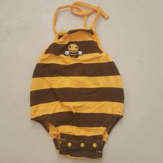 Preloved romper bee newborn