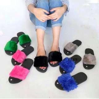 Sandal Bulu Kokop