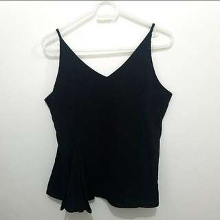 GTWFAB SM WOMAN Black Sleeveless Top