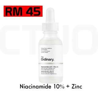 The Ordinary Niacinamide 10% + Zinc (PRE ORDER)