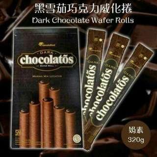 🚚 雪茄巧克力捲心酥