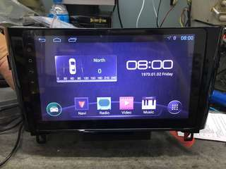 Nissan x trail 10.1 android player