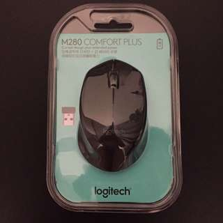 Logitech 羅技 M280 無線滑鼠 (黑)