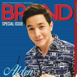 Brand magazine special issue Alden Richards