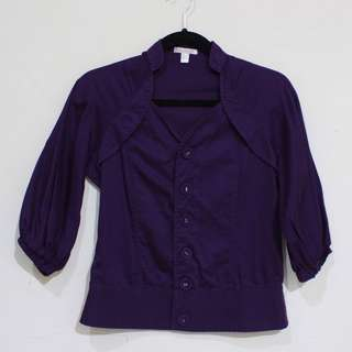 Miss Me Purple Blouse