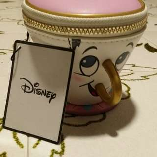 Disney Official princess tea cup wallet pouch
