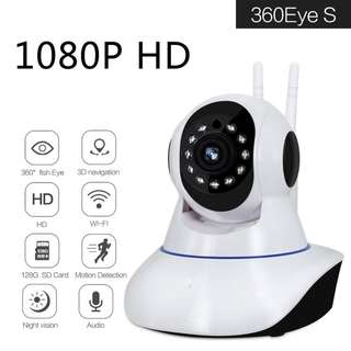 🚚 1080P HD Security IP Wireless Camera With Sound Night Vision Indoor Wifi Security IP Camera With Motion Detection