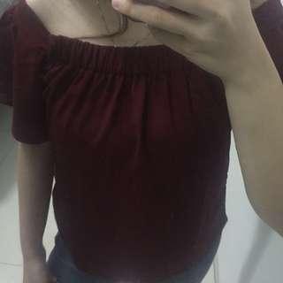 Sabrina top / baju sabrina