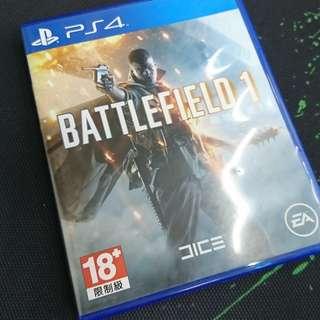 PS4 戰地風雲1 Battlefield 1 (中英文版)