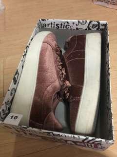 Pink Velvet Kpop Sneakers