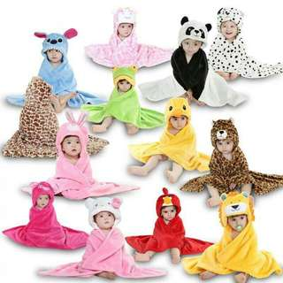Hooded towel/blanket for babies and kids