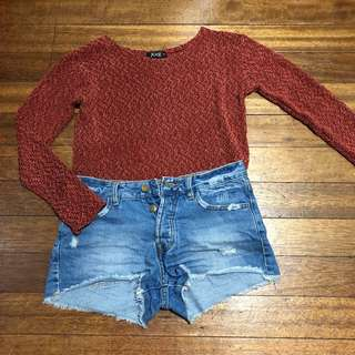 HUG Copper Knitted Sweater