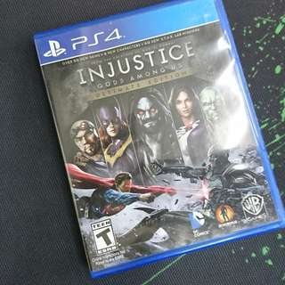 PS4 Injustice (Ultimate Edition)