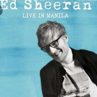 LF: Ed Sheeran Live in Manila Divide Tour Tickets