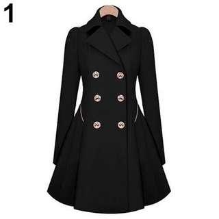 New fashion Women long sleeve winter coat outwear