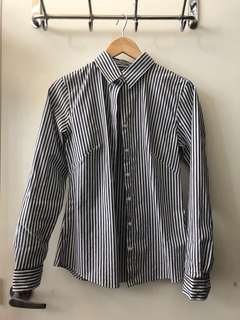 Striped Banana Republic shirt