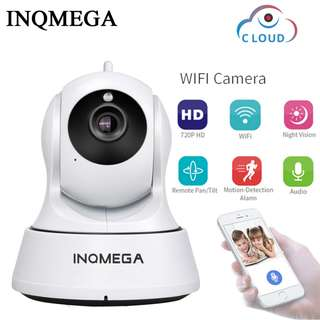 🚚 INQMEGA 720P HD Cloud Security IP Camera WiFi Home Security CCTV Camera Night Vision Pan Tilt Two Way Audio Baby Monitor