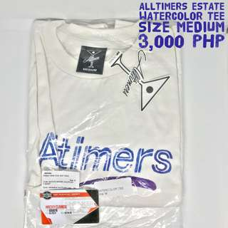 ALLTIMERS ESTATE WATERCOLOR S/S TEE WHITE