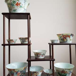 Chinese one set cup