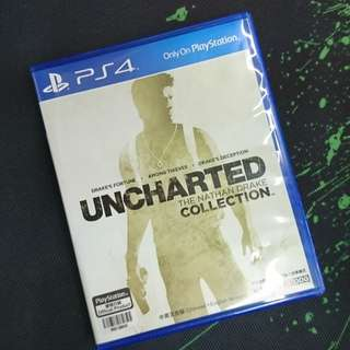 PS4 Uncharted 1+2+3 (中英文版)
