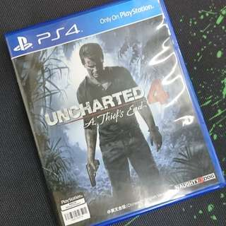PS4 Uncharted 4 (中英文版)