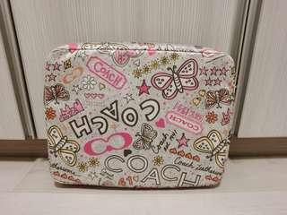 Coach Poppy Graffiti Laptop Cover