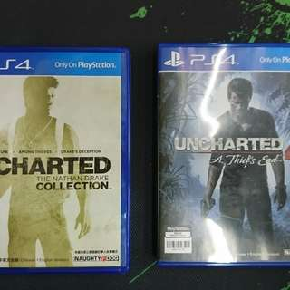 PS4 Uncharted 1+2+3+4 (中英文版)
