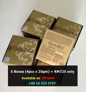 Eumora Facial Bar- Original 5 boxes (4pcs x 25gm) for only RM725
