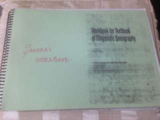 Workbook for Textbook of Diagnostic Sonography -Sandra's
