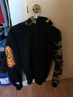 Bape zip up hoodie