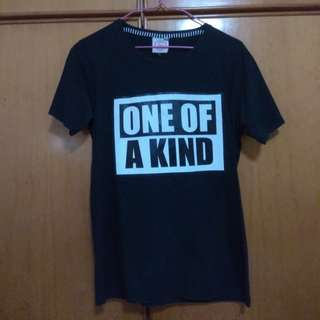black one of a kind shirt