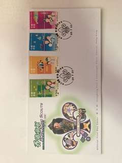 Hong Kong Scouts Stamps