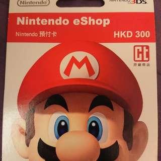 Nintendo預付卡