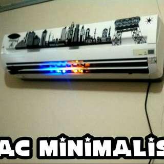 ac minimalis Kristal pemandangan kota led lebih hemat daya listrik