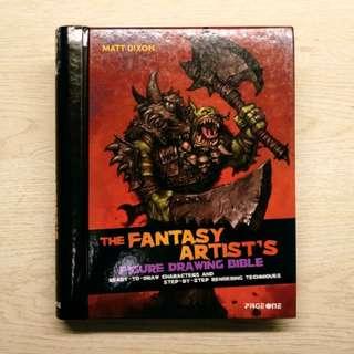 角色設計參考書:Fantasy Artist's Figure Drawing Bible