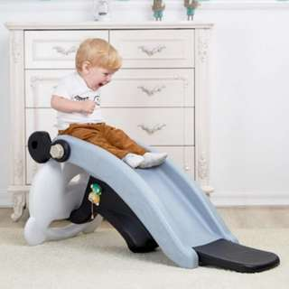 (PO) BN 2-in-1 Convertible Cute Panda Rocker Slide w/FREE Seat Cover