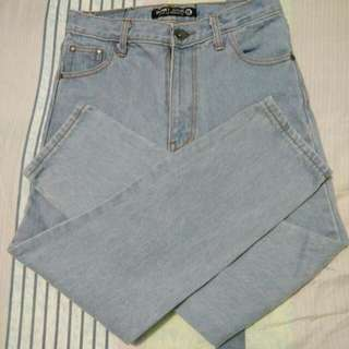Punny Boyfriend Jeans