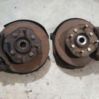Disc brake iswara Saga