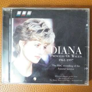 「CD」Diana Princess Of Wales 1961-1997 ~ The BBC Recording Of The Funeral Service (1997 UK & Europe)