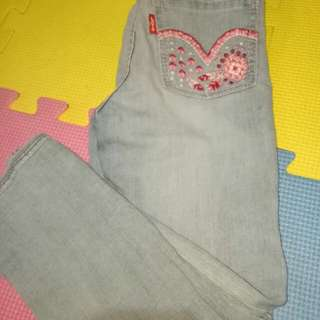 Levis Skinny Jeans for her(Size 4-5y/o)