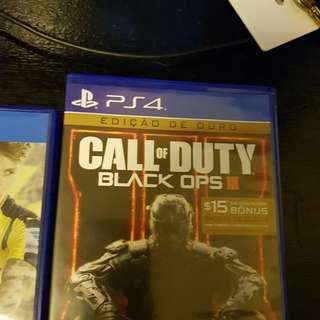 Ps4 games Call of duty black opp