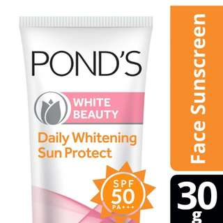 Pond's Whitening Sun Protect SPF 50