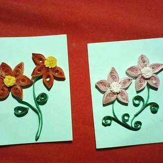 Handmade cards (Quilling designs)#easter20