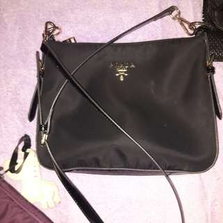 [SUPER LOW PRICE] Preloved Authentic grade Prada Sling Bag