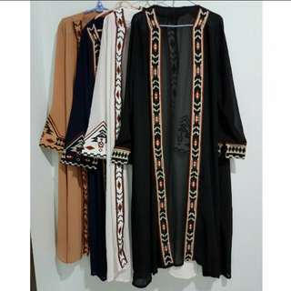 Embroidery Outerwear/Cardigan