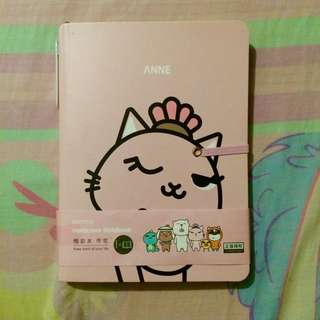 MUMUSO PINK ANNE NOTEBOOK