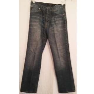 Armani Jean Hemp Fiber. Italy waist 33, length 32