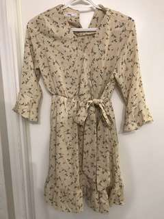 Floral Dress - Size Medium