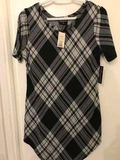 Checkered Dress - Size Medium