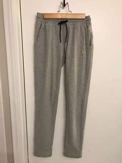 Adidas Heather Grey Pants - Size Small